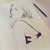 Conrad_roset_muse_in_progress