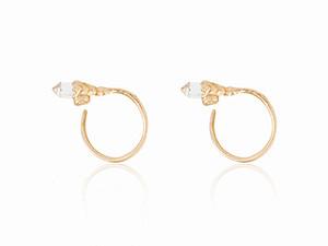 Cristinazazo_aw14_pangolin_earrings